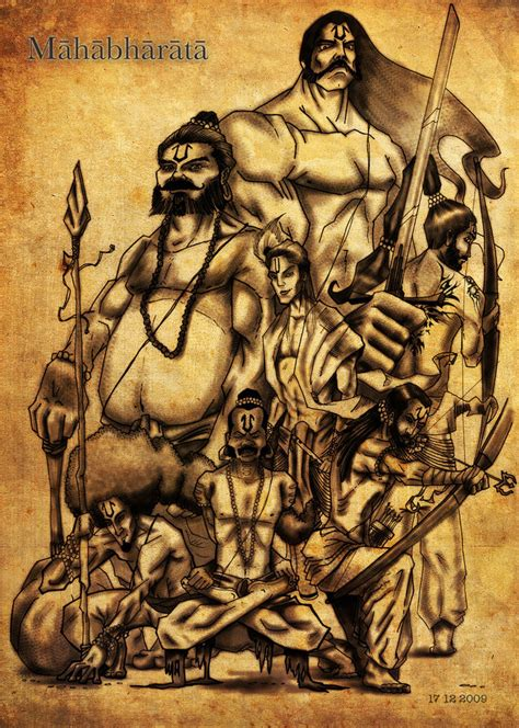 mahabharata an indian epic by creativeabzy on deviantart