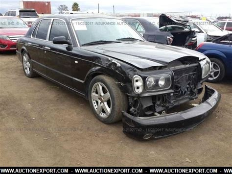damaged bentley for sale damaged salvaged bentley arnage car for sale