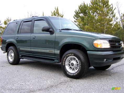 Ford Explorer 1998 by 1998 Charcoal Green Metallic Ford Explorer Limited