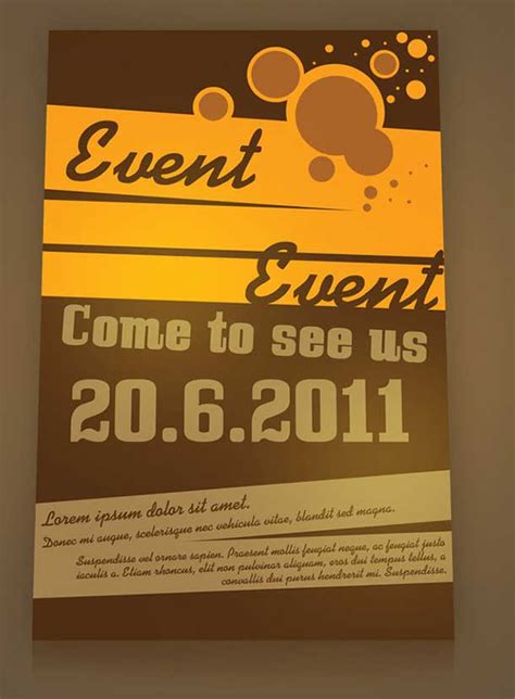 create a free flyer template 33 best free event flyer templates psd