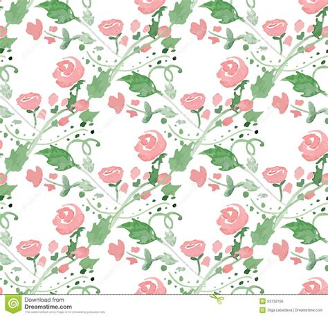 watercolor pattern illustrator free vector illustration seamless pattern with stock vector