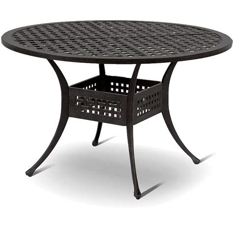 Gartentisch Mosaik Rund 475 by Hartman Gartenm 246 Bel Set 6 Tlg Palermo Bronze Alugu 223