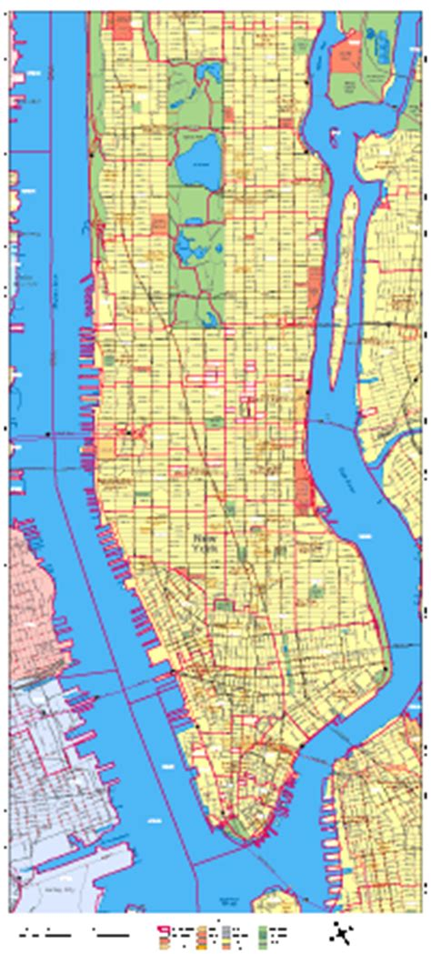 zip code map nyc manhattan zip codes manhattan new york map