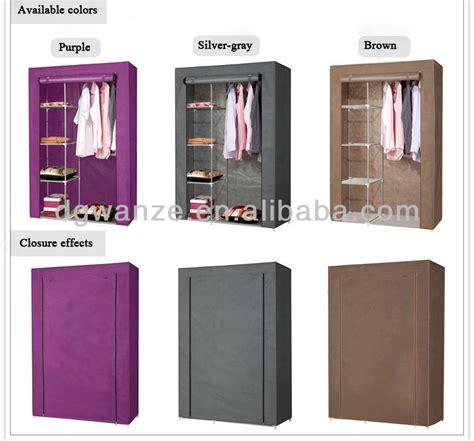 Lemari Non Woven Home Storage Folding Wardrobe Non Woven Fabric Wardrobe