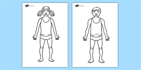 body template worksheet hospital role play hospital