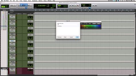Mixing Rap Hip Hop In Pro Tools Creating Session Templates Part 1 Youtube Pro Tools Recording Template
