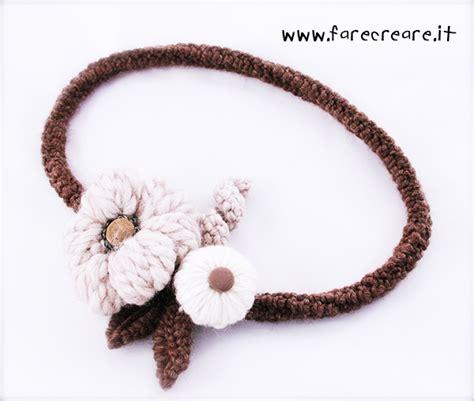 collana fiori uncinetto collane all uncinetto infinita creativit 224 crea la tua