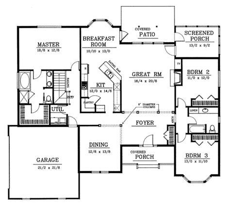 blueprint floor plans for homes house 4823 blueprint details floor plans