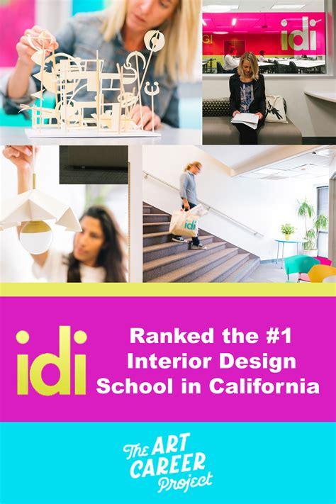 idi ranked  interior design school  california
