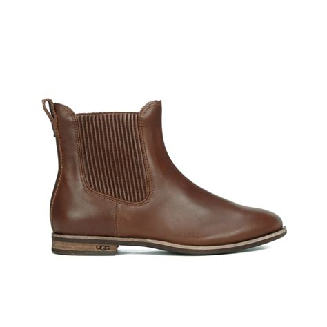 ugg s joey flat chelsea boots chestnut womens