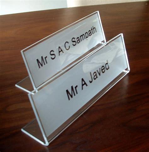 Nameplates For Office Desk 120 Best Freestanding Desk Signs Images On