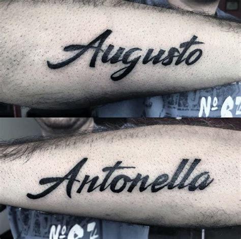 tattoos names designs for men 50 name tattoos for cool children design ideas