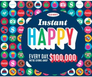 Free Instant Win Competitions - win 100 000 from old navy over 3 million instant win