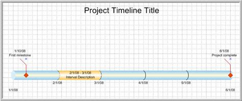 Visio Project Timeline Template by Njyloolus Visio Timeline Exles
