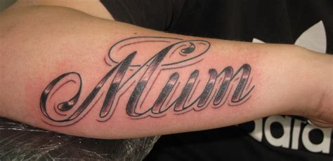 mum irish st tattoo