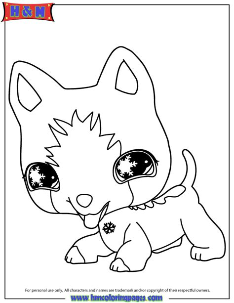 Littlest Pet Shop Coloring Page H M Coloring Pages