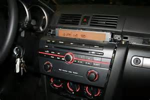 installing the mp3 6cd changer on a 2006 mazda 3