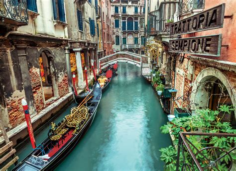 Puzzle Wharf Italy Flavor venice canal jigsaw puzzle puzzlewarehouse