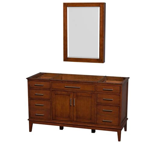 Wyndham Collection Hatton 59 In Vanity Cabinet With