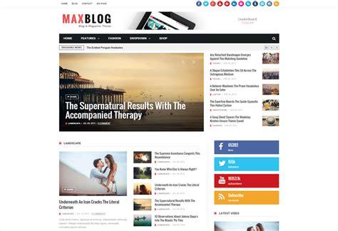 drupal themes responsive premium maxblog premium responsive magazine drupal theme
