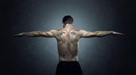 back tattoo exercise stretch your way to muscle gain muscle fitness
