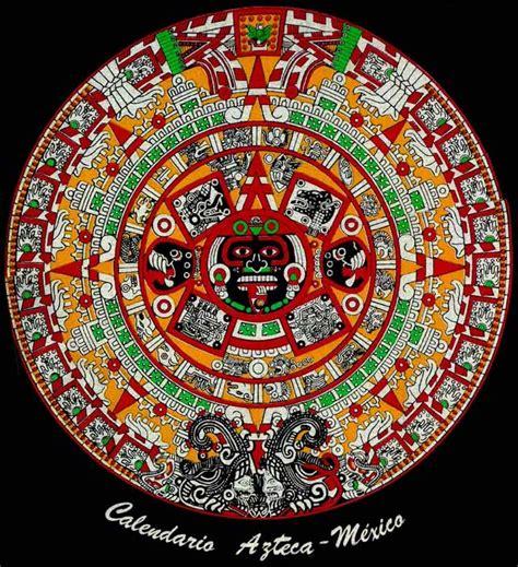 Calendario Solar Azteca Meses Historia En Accion 04 01 2010 05 01 2010