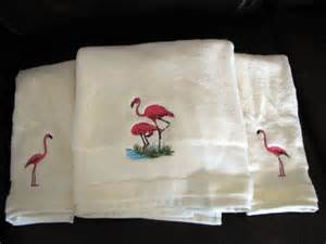 flamingo bath towels pink decorative towels images