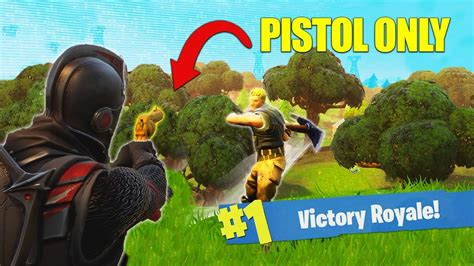 fortnite muselk the pistol only challenge fortnite