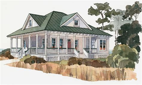 cottage plans with porches low country cottage house plans low country house plans