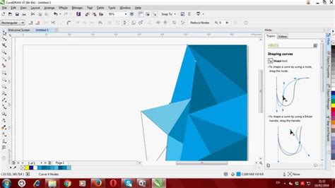 cara membuat background abstrak di coreldraw cara membuat pamflet dengan coreldraw versi on the spot