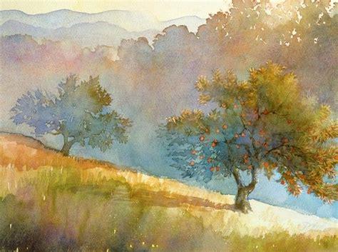 Robert Steele Landscape Watercolor Illustration Strictly Landscape Painting Techniques