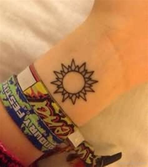 sun tattoo on wrist sun tattoos designs pictures page 4