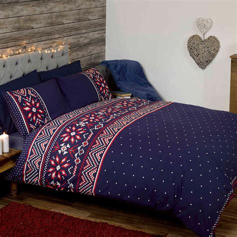 Bettwäsche Größen by Nordische Weihnachten Doppel Bettbezug Und Kopfkissenbezug
