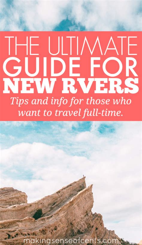 rv living an essential guide to time rving and motorhome living books the ultimate guide to getting started rving sense