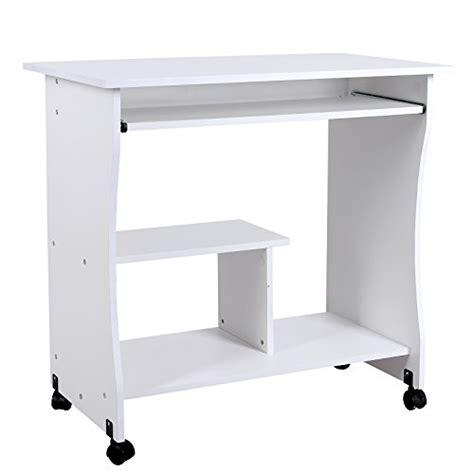 馗ran pour ordinateur de bureau songmics bureau informatique roulant table informatique