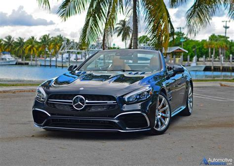 Mercedes Amg Sl65 2017 mercedes amg sl65 roadster review test drive