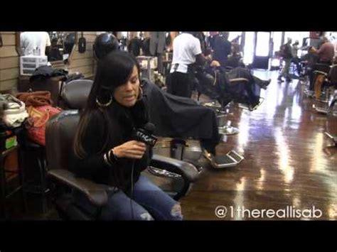 barber is lisa on la hair a man lisa b talks la hair life as a female barber part 1