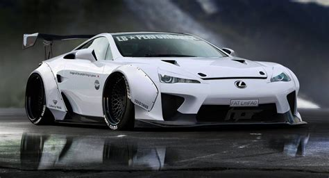 Lexus Lfa Gets A Virtual Liberty Walk Makeover レクサス