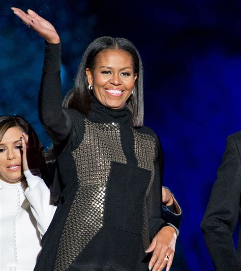 michelle obama haircut michelle obama just got the sleek lob you ve always wanted