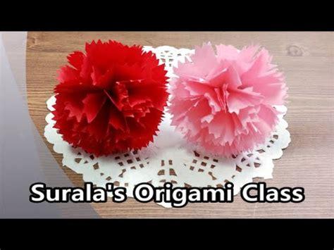 Origami Carnation Flower - origami carnation 종이접기 카테이션 어버이날 스승의날