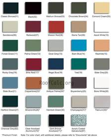 colors of siding best 25 metal roof colors ideas on metal