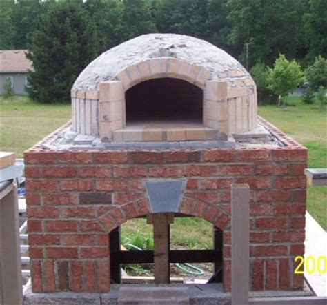 backyard brick oven plans outdoor brick bread oven plans furnitureplans