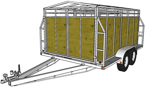 Trailer Sauce Free Trailer Plans Building Plans For Utility Trailers