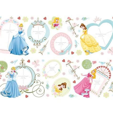 disney princess wall stickers large disney princess 50 photo wall stickers new official ebay