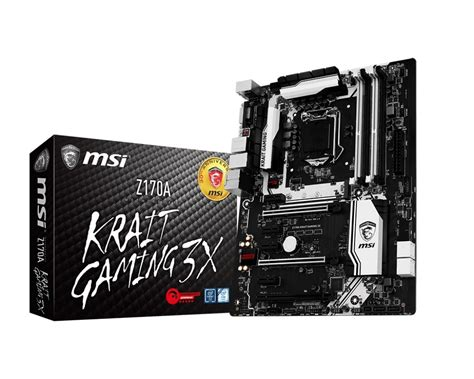 Msi Z170a Krait Gaming drivers for msi s z170a krait gaming 3x motherboard