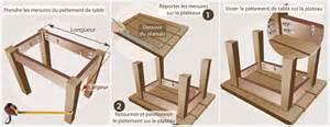 comment fabriquer sa table basse