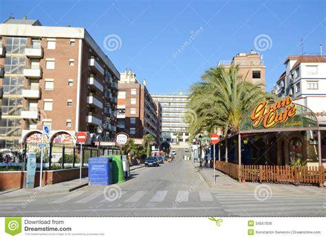 Small Mediterranean House Plans calella costa brava beach editorial stock image image