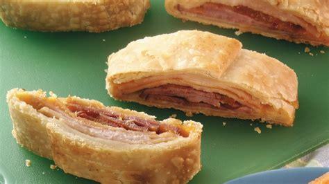 ham and turkey club sandwich recipe flaky ham and turkey sandwich slices recipe from pillsbury
