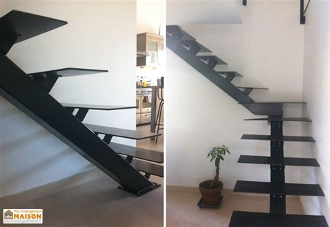 Escalier Quart Tournant Milieu 3286 by Escalier M 233 Tal Design 1 4 Tournant Gauche Ou Droit