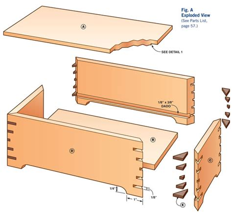 Free Woodworking Plans Box